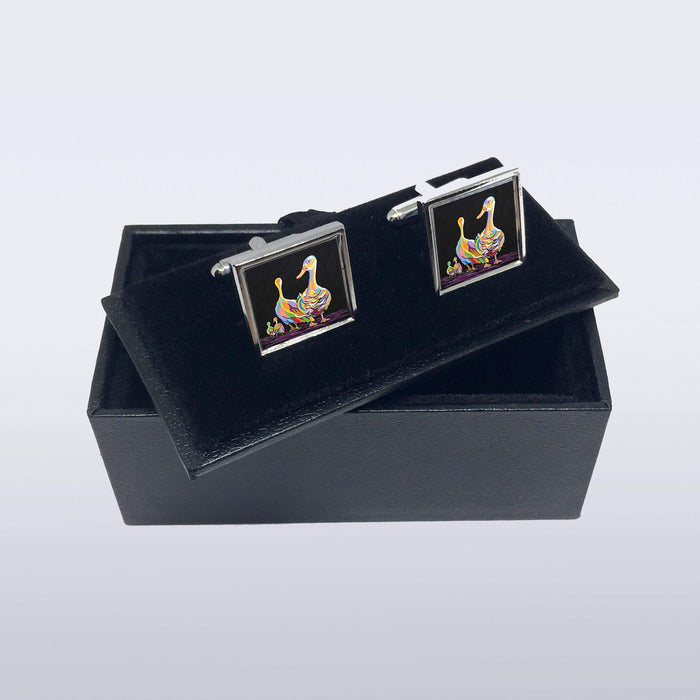 George & Mildred McGeese - Cufflinks