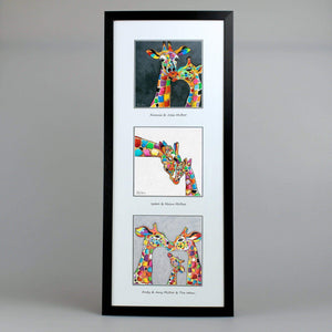 Giraffes Collection - Triptych