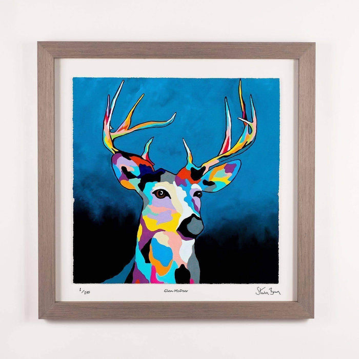 Glen McDeer - Framed Limited Edition Floating Prints