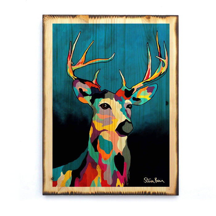 Glen McDeer - Timber Print