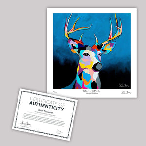 Glen McDeer - Mini Limited Edition Print