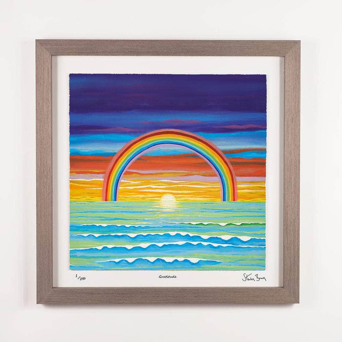 Gratitude - Framed Limited Edition Floating Prints