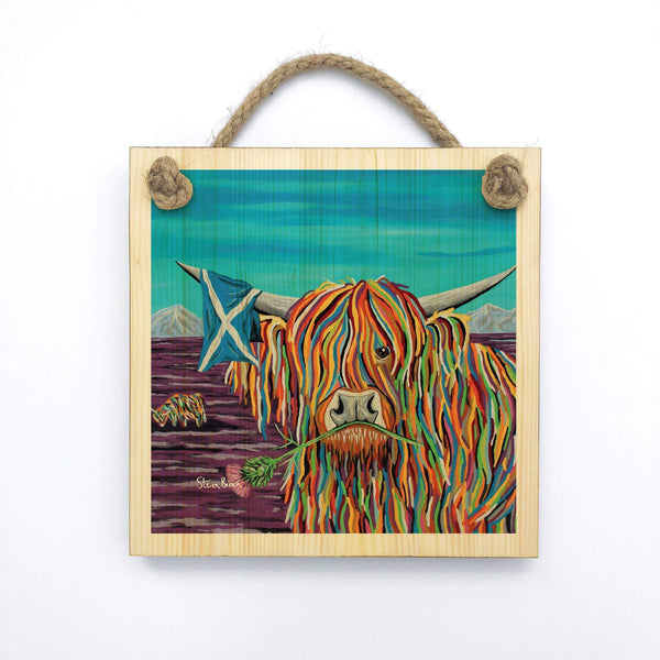 Hamish McCoo - Wooden Wall Plaque