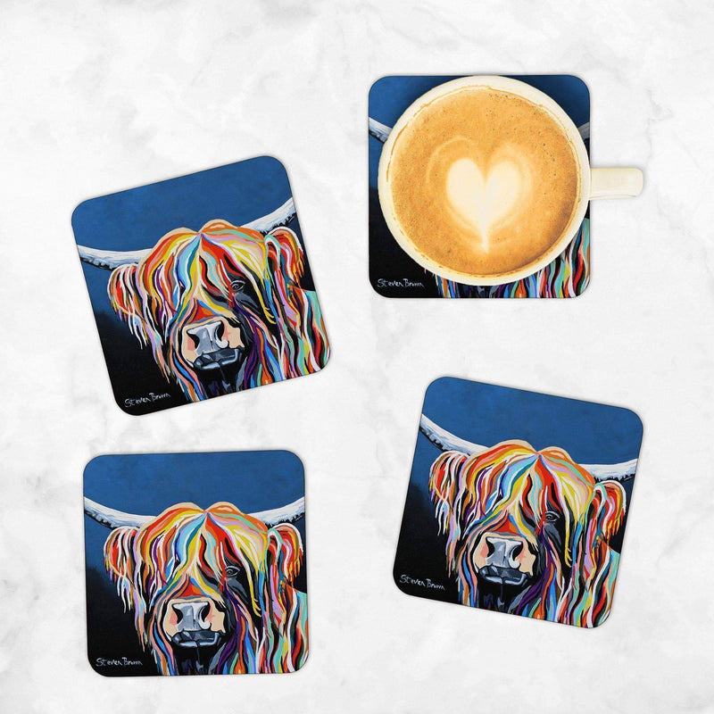 Harris McCoo - Set of 4 Coasters