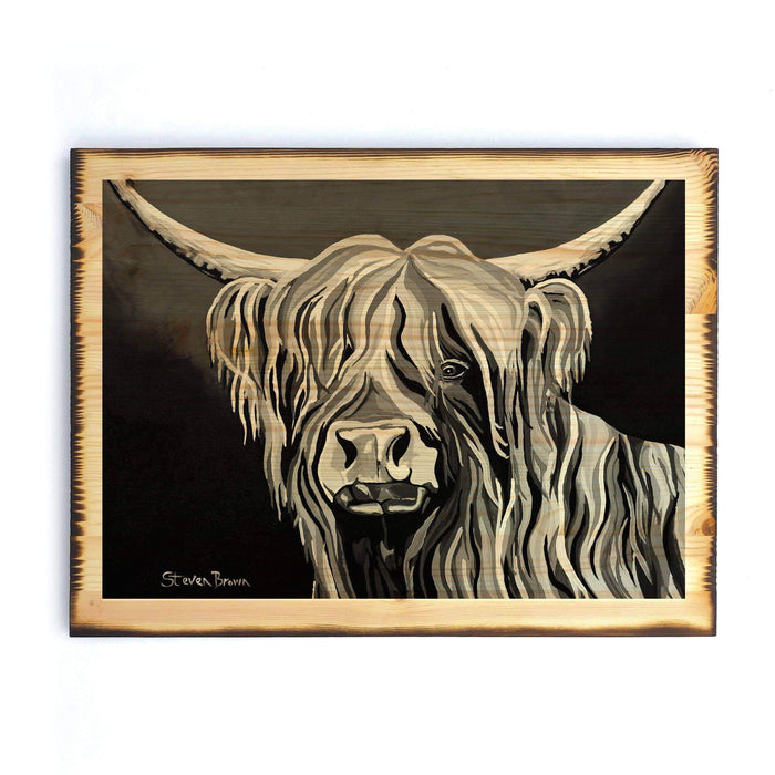 Harris McCoo The Noo - Timber Print