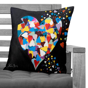 Heart Of Hearts - Faux Suede Cushions
