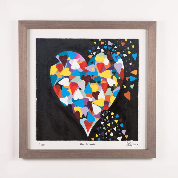Heart of Hearts - Framed Limited Edition Floating Prints