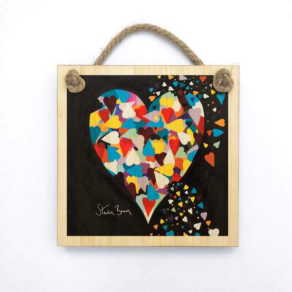 Heart Of Hearts - Wooden Wall Plaque