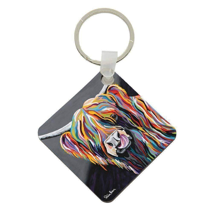 Heather McCoo - Acrylic Keyring