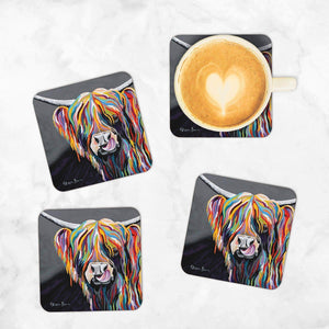 Heather McCoo - Set of 4 Coasters