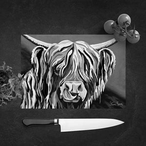 Heather McCoo The Noo - Glass Chopping Board