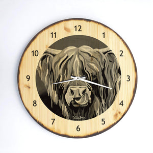 Heather McCoo The Noo- Wooden Clock