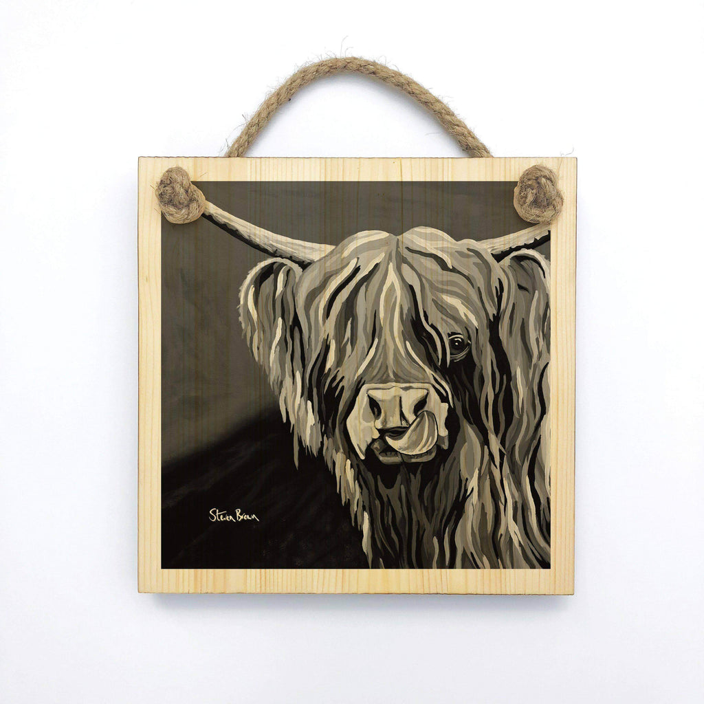 Heather McCoo The Noo - Wooden Wall Plaque