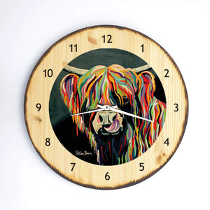 Heather McCoo- Wooden Clock