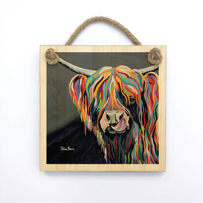 Heather McCoo - Wooden Wall Plaque