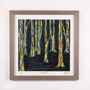 Highland Forest - Framed Limited Edition Floating Prints