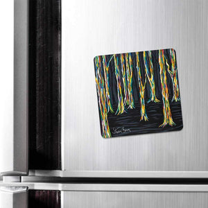 Highland Forest - Fridge Magnet