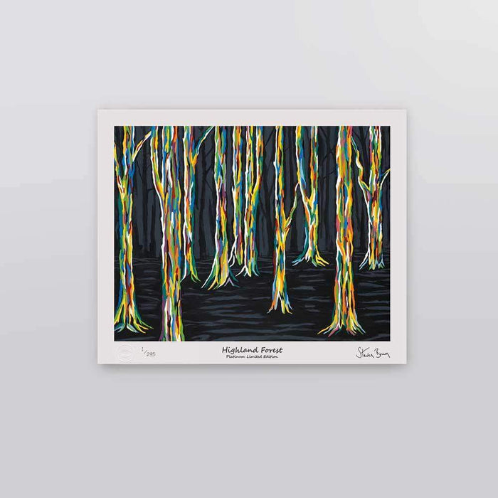 Highland Forest - Platinum Limited Edition Prints