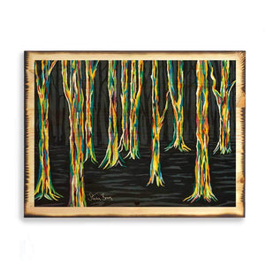 Highland Forest - Timber Print