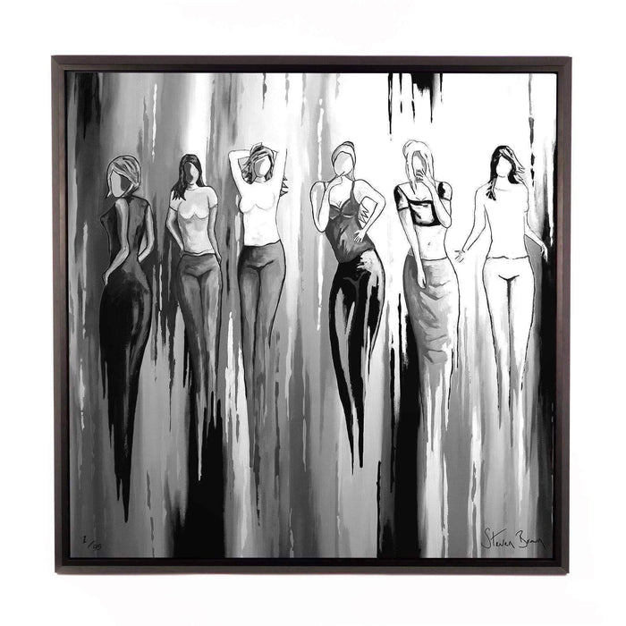 Hingin Oot B+W - Framed Limited Edition Aluminium Wall Art