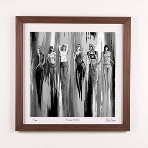 Hingin Oot B&W - Framed Limited Edition Floating Prints