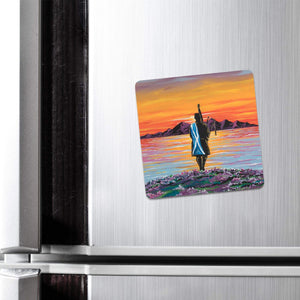 Home - Fridge Magnet