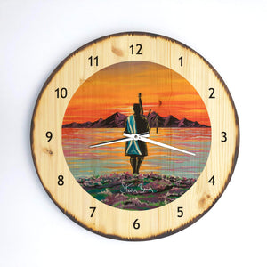 Home - Wooden Clock