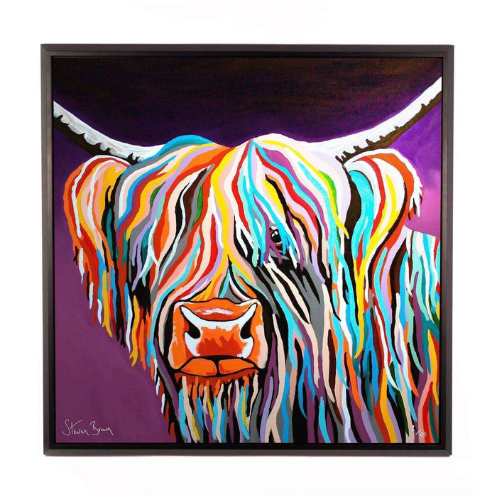 Huey McCoo - Framed Limited Edition Aluminium Wall Art