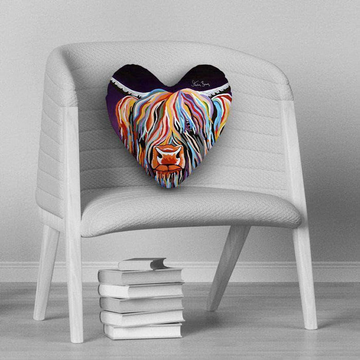Huey McCoo - Heart Cushion