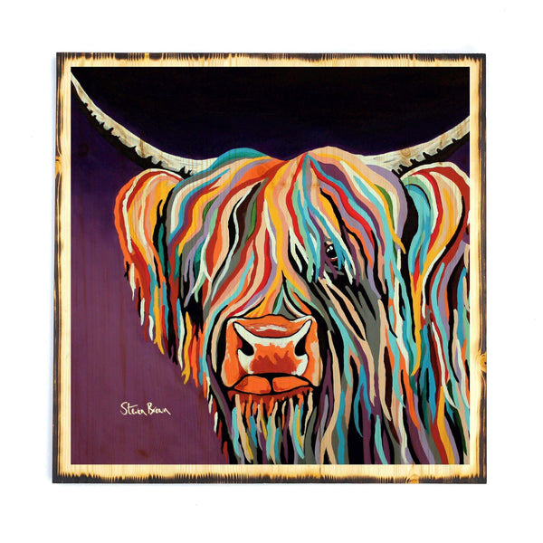 Huey McCoo - Timber Print