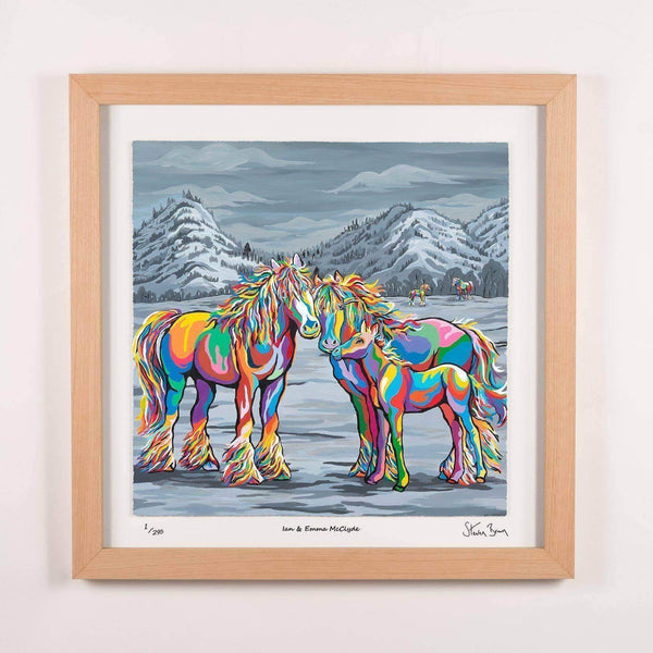 Ian & Emma McClyde - Framed Limited Edition Floating Prints