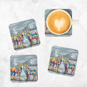Ian & Emma McClyde - Set of 4 Coasters