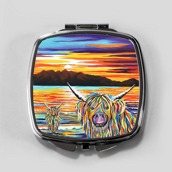 Isla & Arran McCoo - Cosmetic Mirror