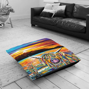 Isla Arran McCoo - Floor Cushion