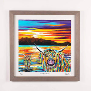 Isla & Arran McCoo - Framed Limited Edition Floating Prints