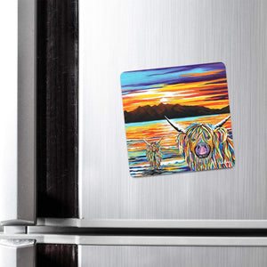 Isla & Arran McCoo - Fridge Magnet