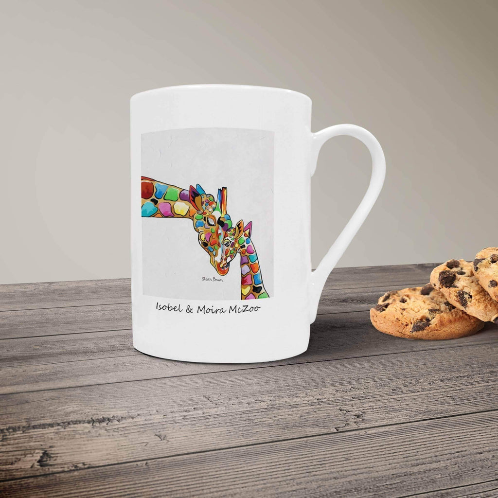 Isobel & Moira McZoo - Bone China Mug