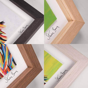 Isobel & Moira McZoo - Framed Limited Edition Floating Prints