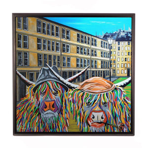 Jack & Victor McCoo- Framed Limited Edition Aluminium Wall Art