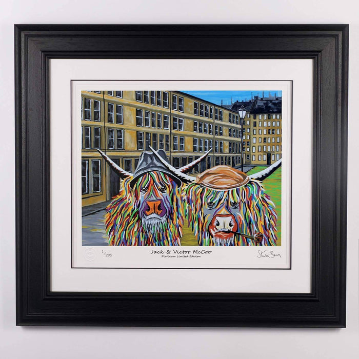 Jack & Victor McCoo - Platinum Limited Edition Prints