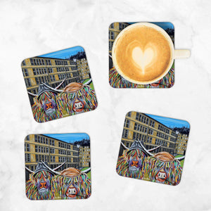 Jack & Victor McCoo - Set of 4 Coasters