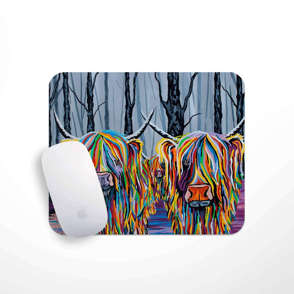 Jean & Bob McCoo and The Bairn - Mouse Mat