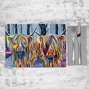 Jean & Bob McCoo and The Bairn - Placemat