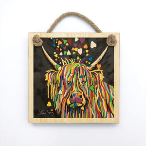 Jenny McCoo - Wooden Wall Plaque