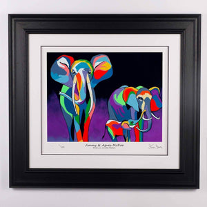 Jimmy & Agnes McZoo - Platinum Limited Edition Prints