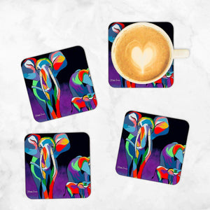 Jimmy & Agnes McZoo - Set of 4 Coasters