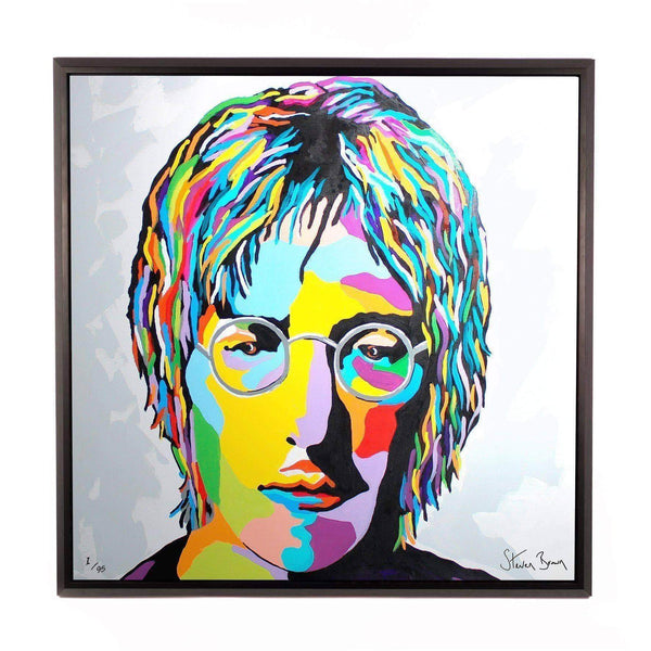 John Lennon - Framed Limited Edition Aluminium Wall Art