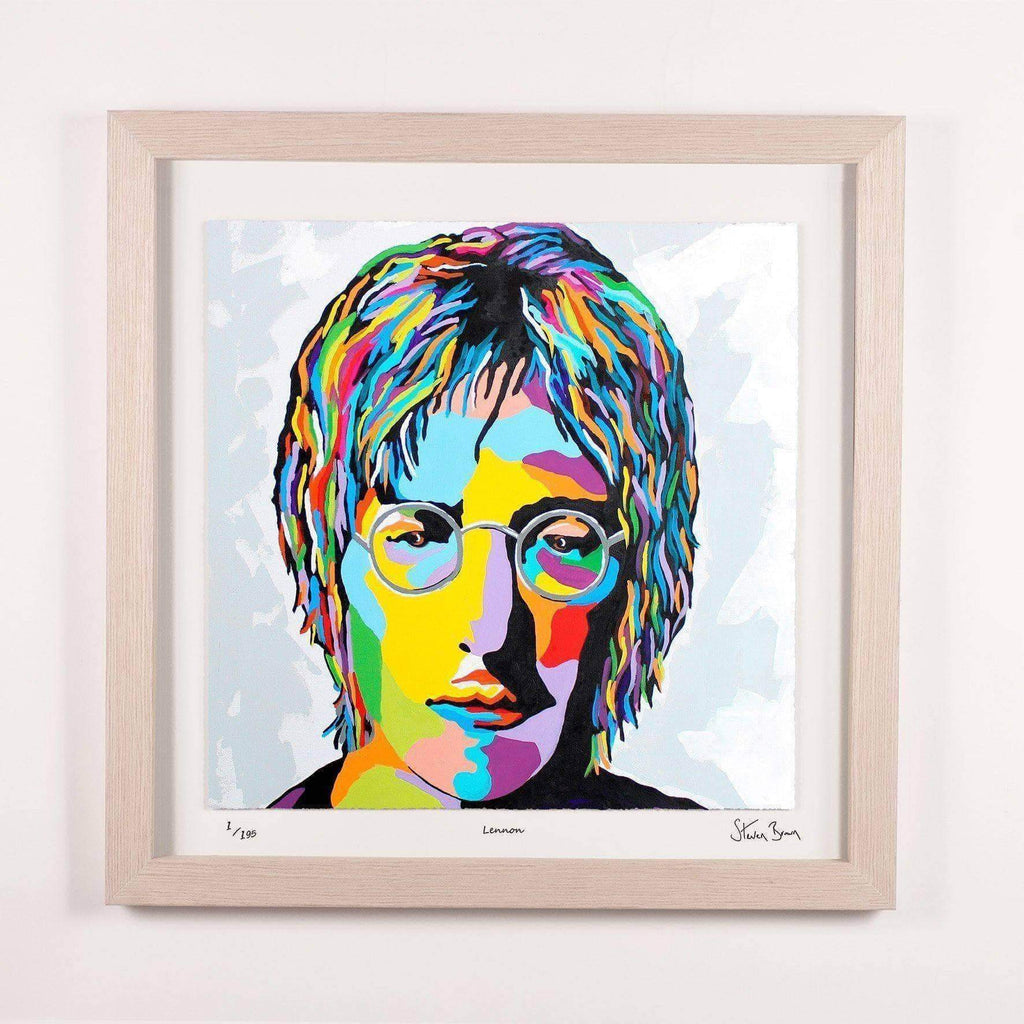 John Lennon - Framed Limited Edition Floating Prints