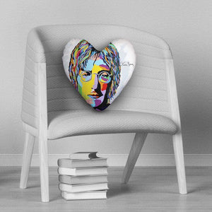 John Lennon - Heart Cushion