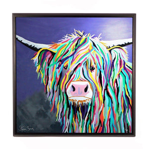 Kev McCoo - Framed Limited Edition Aluminium Wall Art